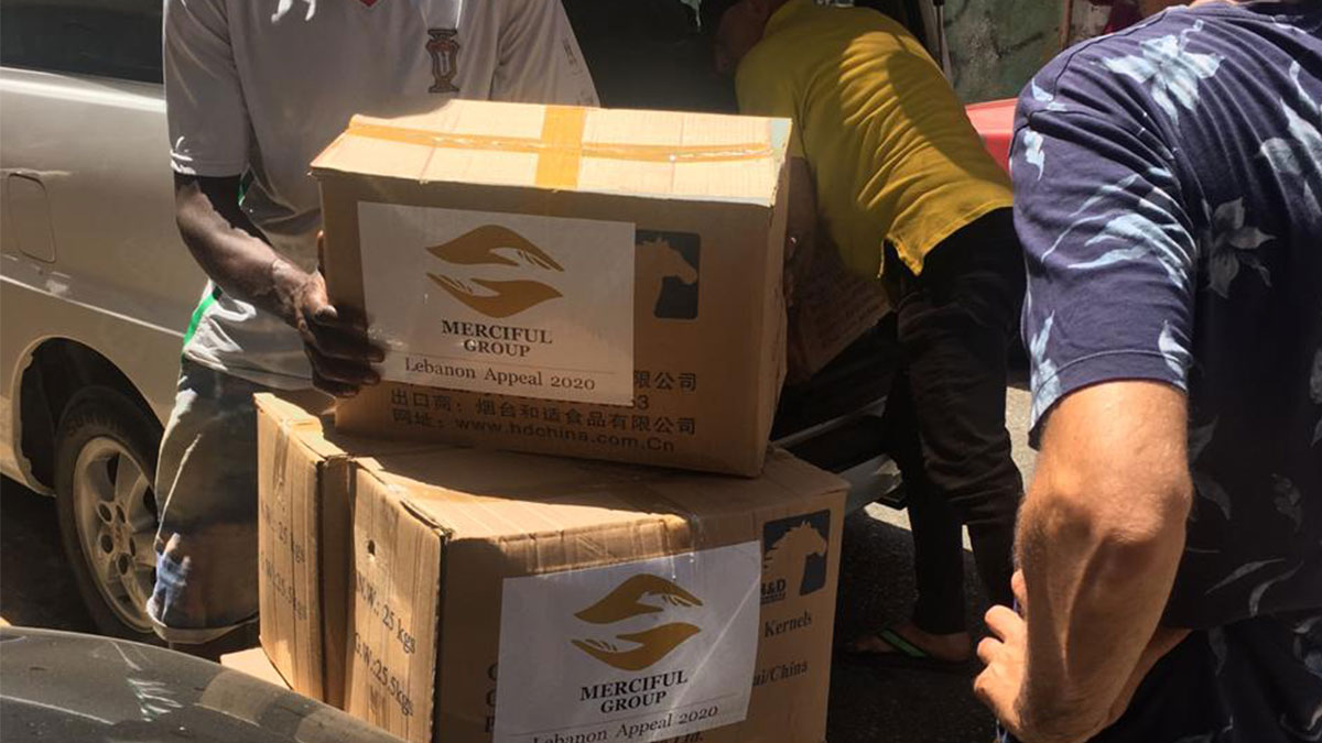 Food Distribution In Lebanon