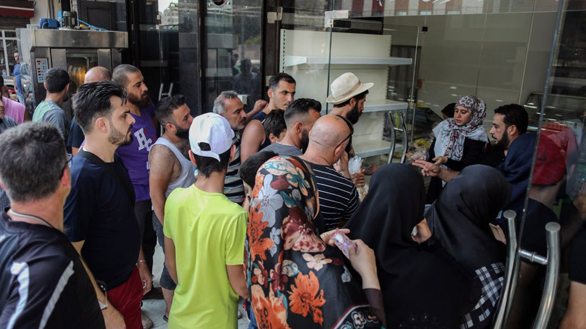 More than half of Lebanon could face food shortages